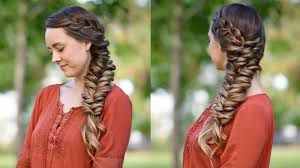simple hairstyles with one elastic side elastic braid diy hairstyles cute girls hairstyles youtube