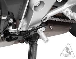 honda cbr600rr black sw motech adjustable folding shift lever for honda cbr600rr u002713