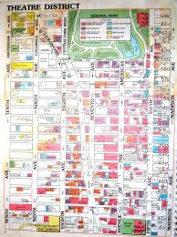 New York City Marathon Map by Times Square Map New York Ny U2022 Mappery