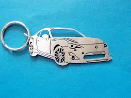 toyota 86 key chain personalized keychain car keychain keychain