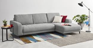 Corner Sofa In Living Room by Luciano Right Hand Facing Corner Sofa Mountain Grey Made Com