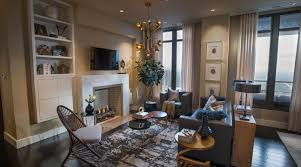 Hgtv Contemporary Living Rooms by Fireplace Could Be Quartz Marble Etc Add Rustic Panel Put Tv