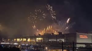 new years houston tx superbowl 51 week nfl live fireworks display in downtown houston