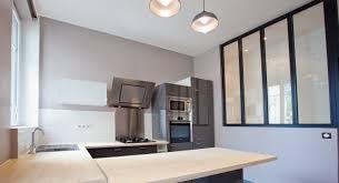 cuisine atelier d artiste une verrière type atelier d artiste pour une cuisine lumineuse à
