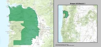 map oregon 5th congressional district oregon s 1st congressional district