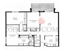 50 Sq Ft Bathroom by 1400 Floorplan 1400 Sq Ft Heather Gardens 55places Com