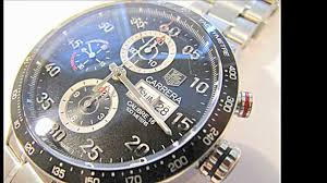 carrera watches tag heuer carrera calibre 16 day date automatic chronograph youtube