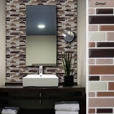 peel and stick backsplash for kitchen peel and stick wall tile modern bathroom inspirations with for