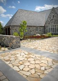 How To Lay Flagstone Patio Flagstone Patio Diy Livingston Farm Outdoor Structures
