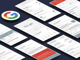 google now ui kit sketch freebie download free resource for