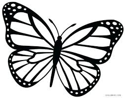 coloring pictures of small butterflies butterfly templates printable crafts colouring pages free small