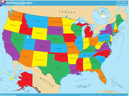 Show Me A Map Of California North America Political Map Map Of Inside Show Me A Of