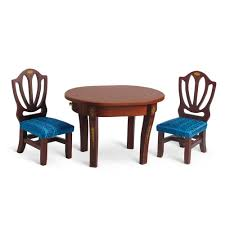 american doll dining table caroline s table and chairs american girls