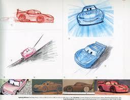 cars mcqueen sketch johnny holland