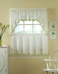 Green And White Kitchen Curtains Green And White Kitchen Curtains Home Design Ideas