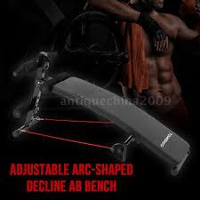 decline sit up bench adjustable slant board abdominal core abs