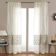 buy sheer white linen curtains from bed bath u0026 beyond
