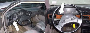 Taurus Sho Interior Generation 1 1986 To 1991 Taurus Sable Encyclopedia