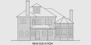 Small Castle House Plans Brick House Plans Curved Stair Case Attic Dormer Small Castle