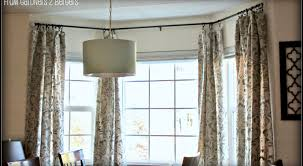 how to hang curtains decor superior how to hang curtains in a bay window uk arresting