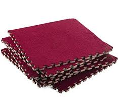 amazon com interlocking foam mats fluffy carpet rug