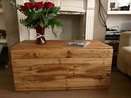 Rustic Chest Coffee Table Rustic Trunk Storage Chest Coffee Table Blanket Box Handcrafted