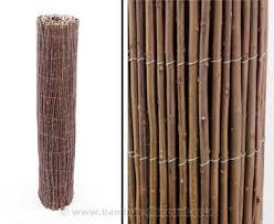 balkon bambus sichtschutz sichtschutz weide 90x300cm günstig hier kaufen