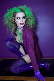 Crazy Woman Halloween Costume 25 Female Joker Ideas Female Joker Cosplay
