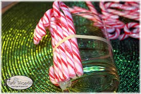 learn to make a candy cane vase tigerstrypesblog