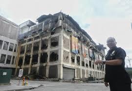 store bureau center cebu city mall finally put out after more than 2 days