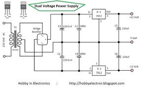 dual voltage power supply 12 volt wiring diagram