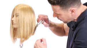 wavy lob haircut tutorial haircut tutorial how to cut a bob with a razor lob haircut