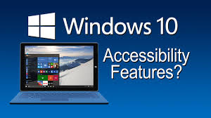 windows 10 accessibility features the blind life youtube
