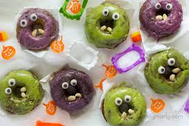 vegan monster donuts for halloween aol lifestyle food