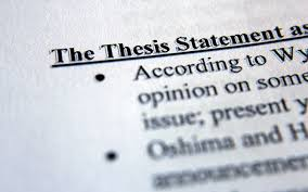 how to make a strong thesis statement tips on writing a strong