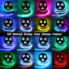 high waterproof ip68 rgb color chasing led light kit 16 4ft