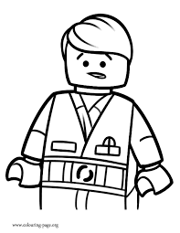 coloring pages emmet coloring pages the lego movie page orders