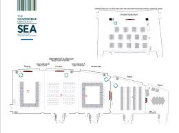 At T Center Floor Plan by The Conference Center At Sea Tac International Airport