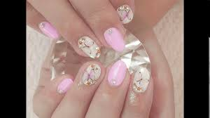 light pink nail designs youtube