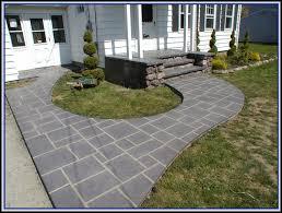 Refinishing Concrete Patio 12x12 Concrete Patio Pavers Patios Home Decorating Ideas