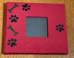 personalized dog photo album pet dog memory album etsy