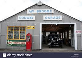 1930s style garage at black country living museum in w midlands