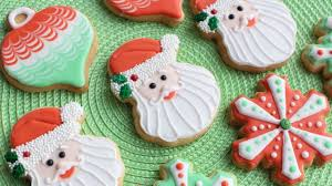 3 cookie designs using wilton cookie cutters santa