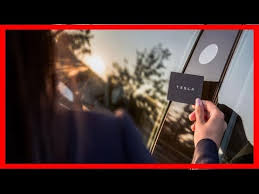 tesla model 3 how the keyless and phone entry works and user