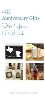 s gifts for husband 4th wedding anniversary gift ideas for your husband traditional