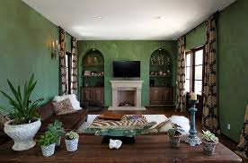 Green Living Rooms And Ideas To Match - Green living room design