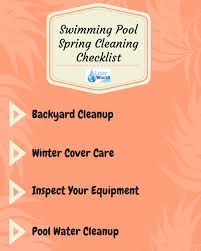 swimming pool spring cleaning tips linerworld