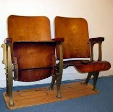 vintage siege vintage siege banquette bois cinéma 2 fauteuils ameublement