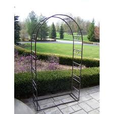 wedding arches and arbors oakland living single arbor with base hammer tone
