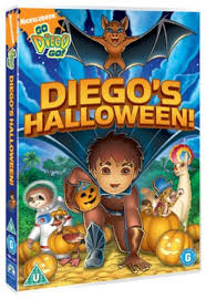 Halloween Dvd Go Diego Go Diego U0027s Halloween Dvd Zoom Co Uk